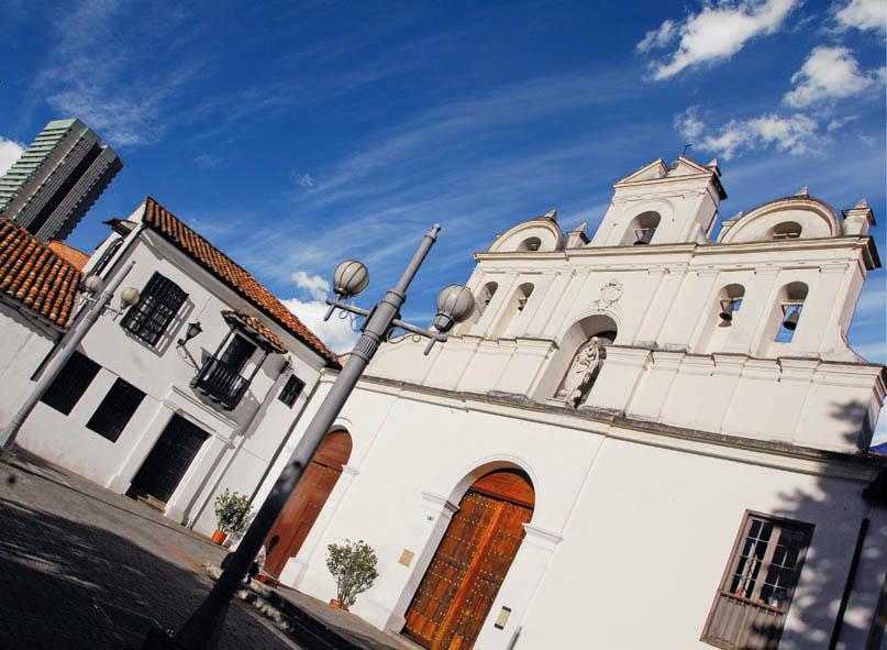 Arquitectura Colonial Bogota, Iglesia Las Aguas