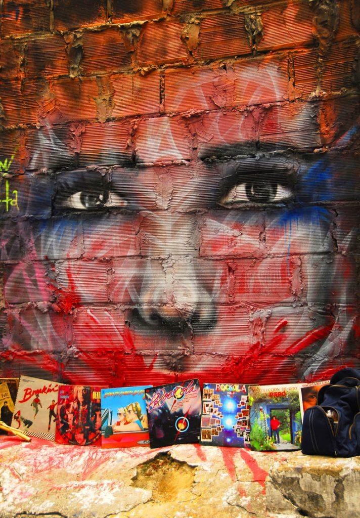 Rostro Grafitti
